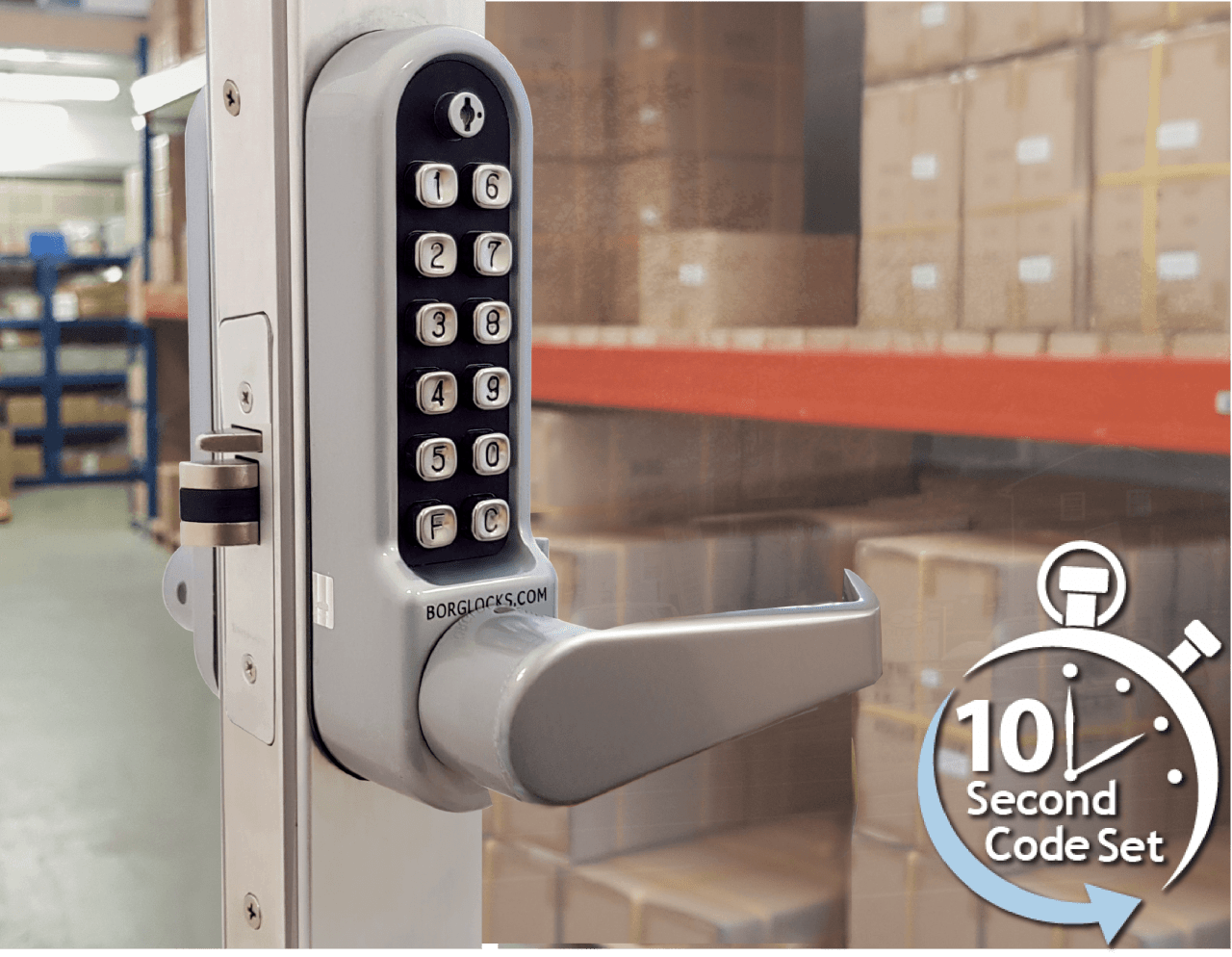 The BL 5402 is the perfect lock for your aluminium door