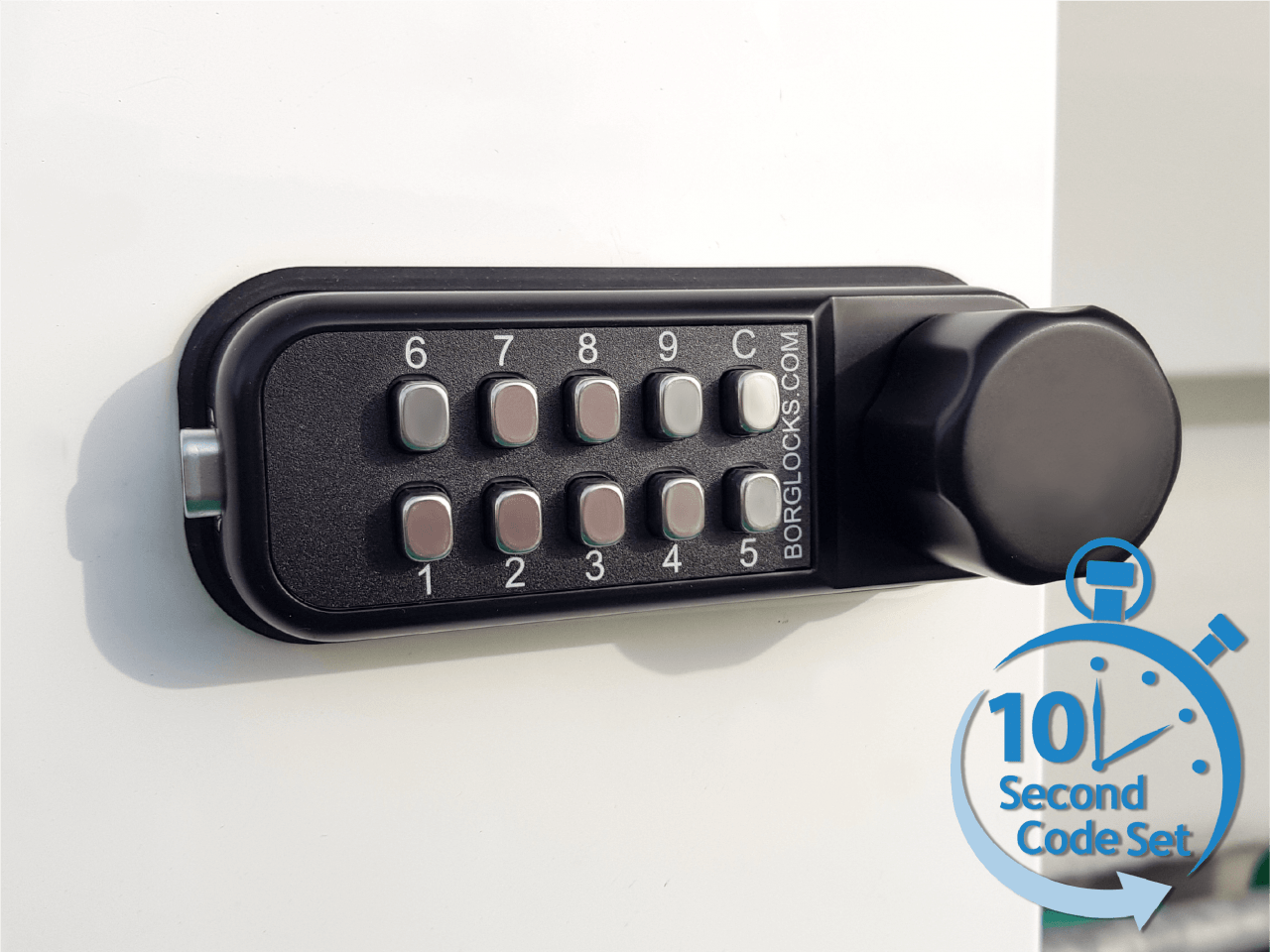 cabinet locks from Borg Locks keep your valuables safe at home, work or in the gym