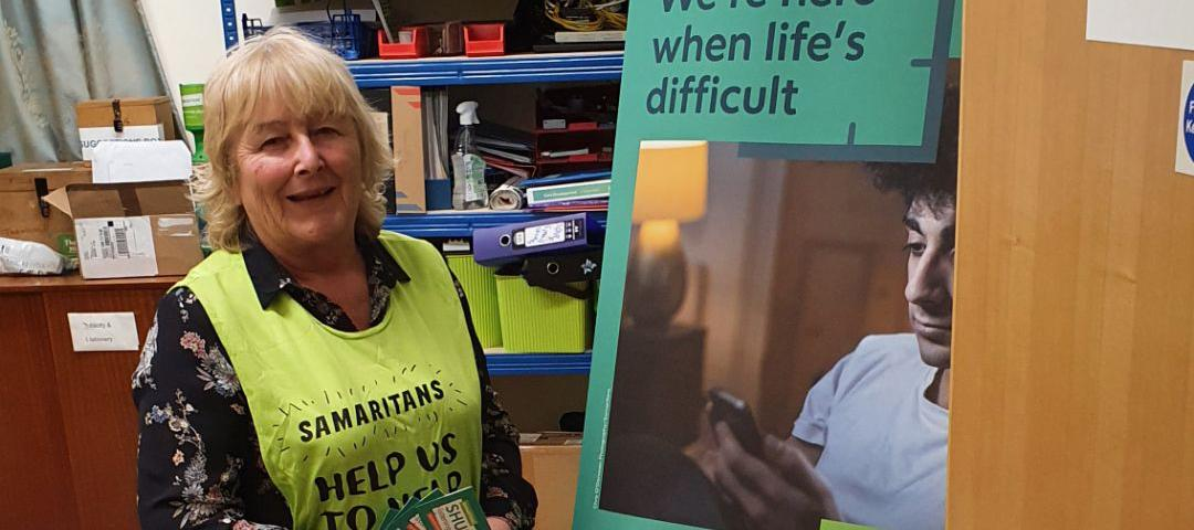 Jenny Meads, Branch Director of Basildon and Thurrock Samaritans