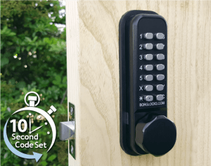 The BL2601 ECP combination digital lock is available from Borg Locks
