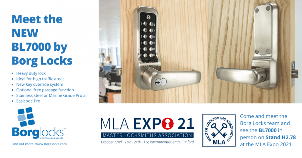 Meet the Borg Team and see the BL7000 at the MLA Expo 21